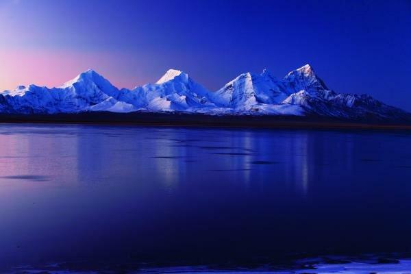 The Holy Lake and Sacred Mountain