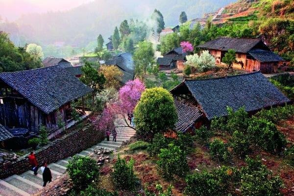 Villages around Laosi City